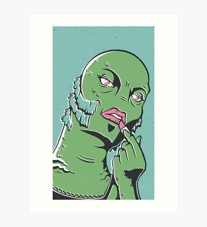 Swampie Art Print