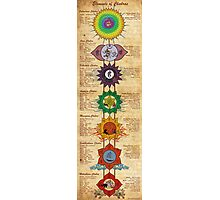 Elements of Chakras Photographic Print
