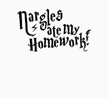 Nargles ate my homework! Womens Fitted T-Shirt