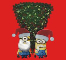 Christmas Tree by Minions by DrPop