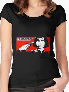 Mathilda Women's Fitted Scoop T-Shirt
