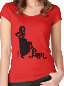 Pam Grier Women's Fitted Scoop T-Shirt