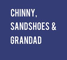 Chinny, Sandshoes & Grandad Womens Fitted T-Shirt
