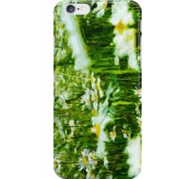 Oxeye Daisy Abstract Impressionism iPhone Case/Skin