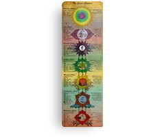 The Seven Chakras Metal Print