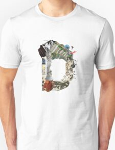 D - Surreal Caligraphy T-Shirt