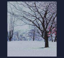 Winter Trees One Piece - Long Sleeve