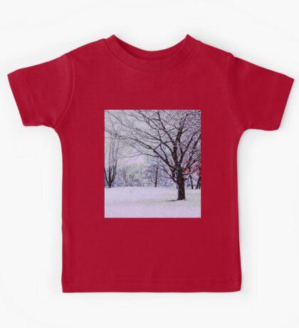 Winter Trees Kids Tee