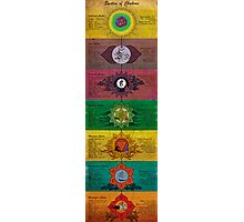 The System of Chakras Photographic Print