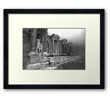 Nymphaeum Framed Print