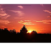 SUNSET #005 Photographic Print