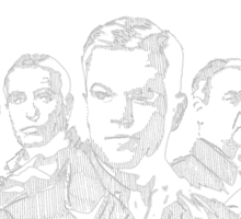 The Monuments Men Sticker