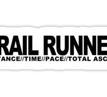 Trail Runner Sticker