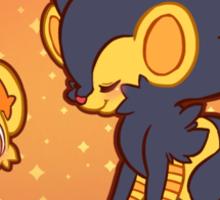 Shiny Shinx and Luxray Sticker