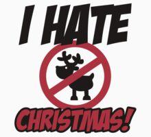 I hate christmas Kids Tee