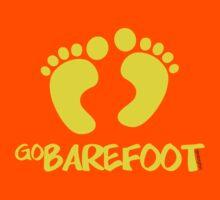 Go Barefoot Kids Tee