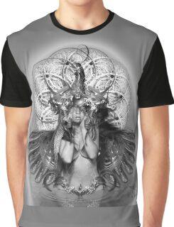 Grey Mantra Graphic T-Shirt