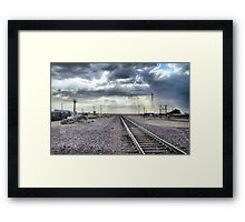 Small Town Blues Framed Print