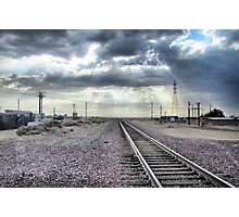 Small Town Blues Photographic Print