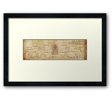 Suryanamaskar – The Sun Salutation Framed Print