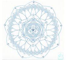 Resonance Mandala Photographic Print