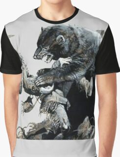 glass and grizzly the revenant movie Graphic T-Shirt