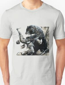 glass and grizzly the revenant movie T-Shirt