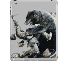 glass and grizzly the revenant movie iPad Case/Skin