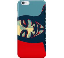 Revolt for V iPhone Case/Skin