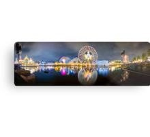 Disneyland World of Colors Panoramic photo Metal Print
