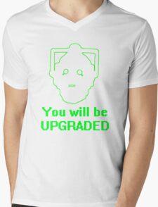 Human 2.0 Mens V-Neck T-Shirt