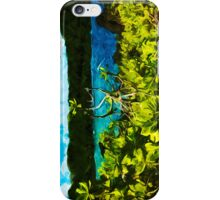 On the Road to Hana Maui Abstract Impressionist iPhone Case/Skin