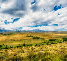 Landscape view from Freeway 395 - California by Jerome Obille