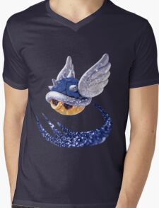 Mario - Blue shell Mens V-Neck T-Shirt