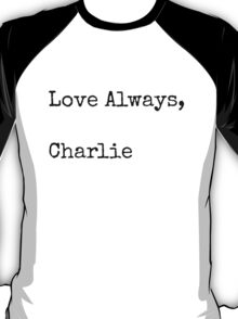 Perks of Being a Wallflower Quote T-Shirt