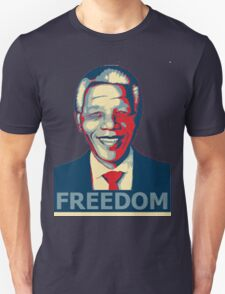 Nelson Mandela tribute freedom T-Shirt