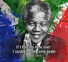 Nelson Mandela R.I.P. by webda