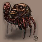 Worst Parasite Ever! (Digital Illustration) by Amata415