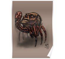 Worst Parasite Ever! (Digital Illustration) Poster