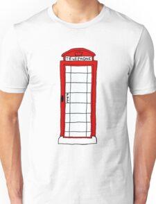 Telephone Booth Unisex T-Shirt