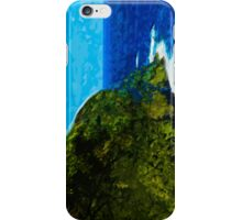 Ocean Cliff On the Road to Hana Maui Abstract Impressionism iPhone Case/Skin