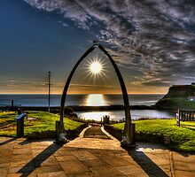 Whitby Whale Jaw Bone Arch by © Steve H Clark