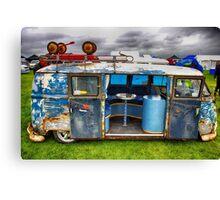 The 'BENCH Jeans' Vw Split Screen custom Van Canvas Print