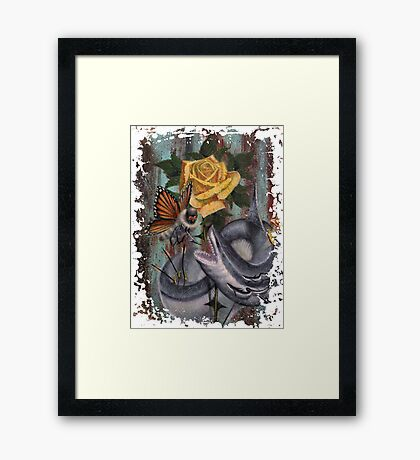 Protect Her at all Cost Framed Print