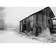 Cold and Worn Photographic Print