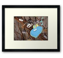 Key to Cinque Terre Framed Print