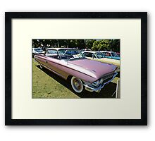 Cadillac 1961 Coup deville Framed Print