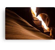 Unique Rock formation - Antelope canyon Canvas Print