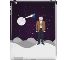 Mad man with a box iPad Case/Skin