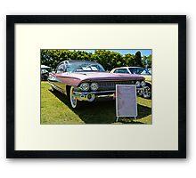 1961 Cadillac  Framed Print